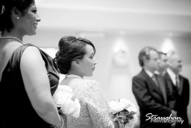 Anna wedding riverwalk San Antonio sister wating