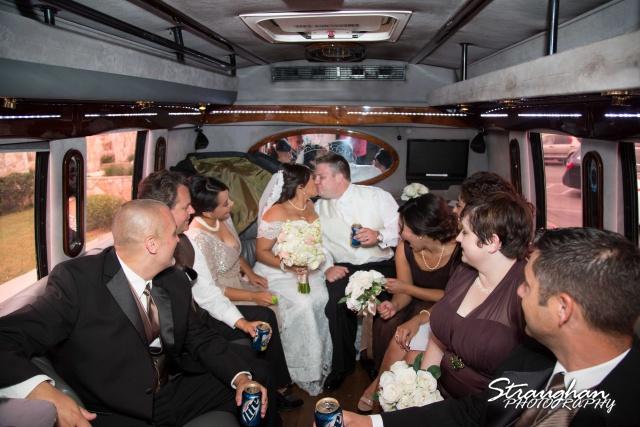 Anna wedding riverwalk San Antonio party bus