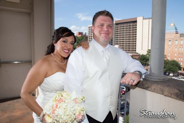 Anna wedding riverwalk San Antonio on the roof top