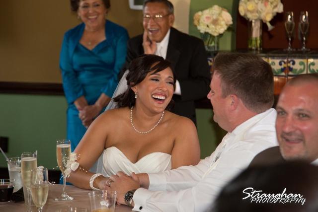 Anna wedding riverwalk San Antonio toasts
