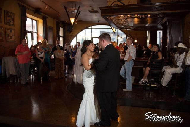 Anna wedding riverwalk San Antonio first dance full