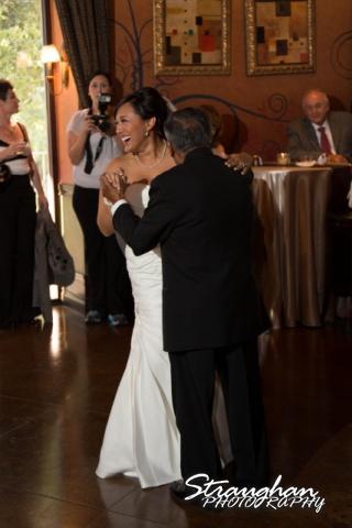 Anna wedding riverwalk San Antonio father's dance