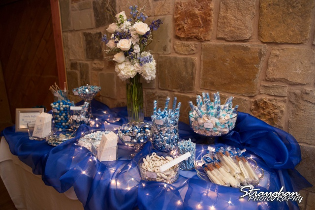 Chris Wedding Comfort Cathedral candy table