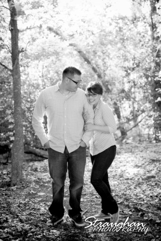 Augustina engagement at McNay forst bw