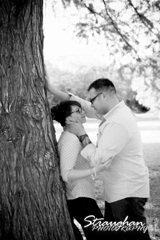 Augustina engagement at McNay by the tree