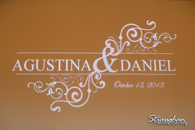 Agustina wedding Scenic Springs gobo