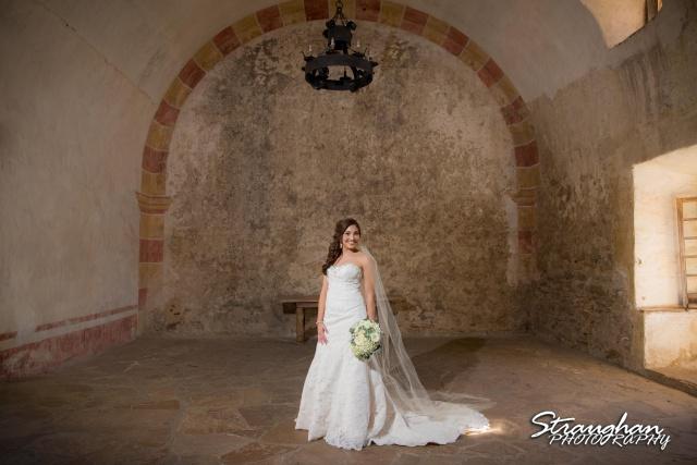 Allison H bridal Mission San Jose in the room