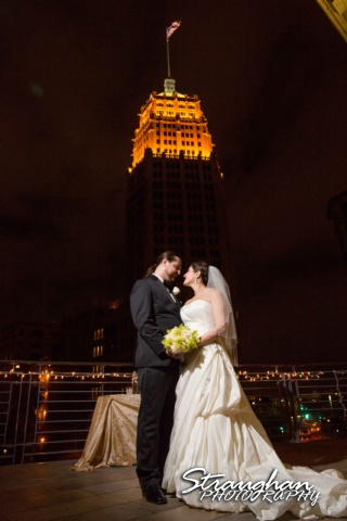 Allison wedding International Center bank building
