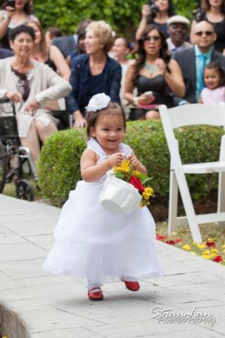 Allison wedding Castle Avalon daughter