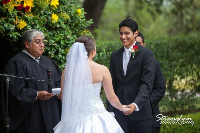 Allison wedding Castle Avalon vows