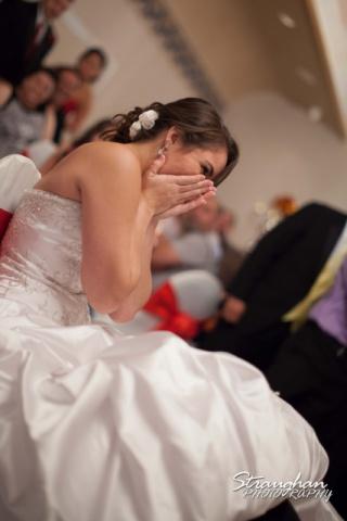 Allison wedding Castle Avalon garter fun