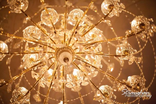 Allison wedding Castle Avalon chandelier
