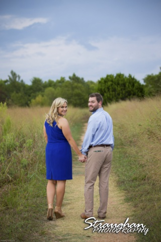Amanda and Pat's engagement at Cibolo Nature Center, Boerne, TX