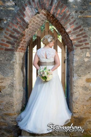 Amanda Shippy Bridal Mission San Jose back of dress