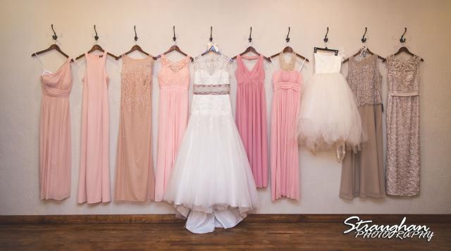 Pat wedding Bella Springs dresses