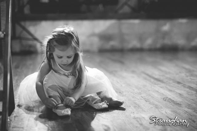 Pat wedding Bella Springs little ballerina