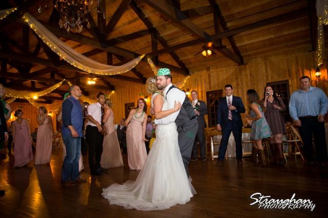 Pat wedding Bella Springs dancing