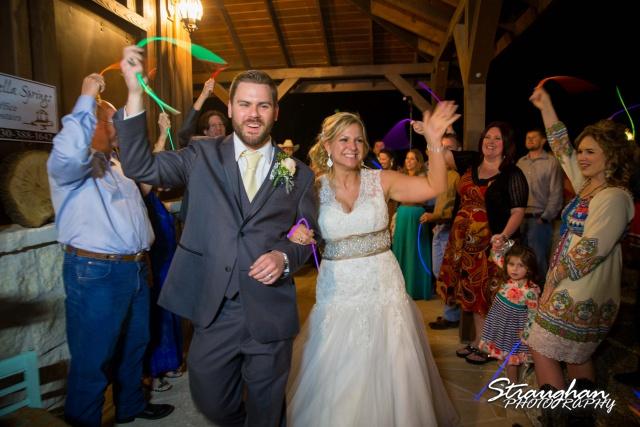 Pat wedding Bella Springs exit