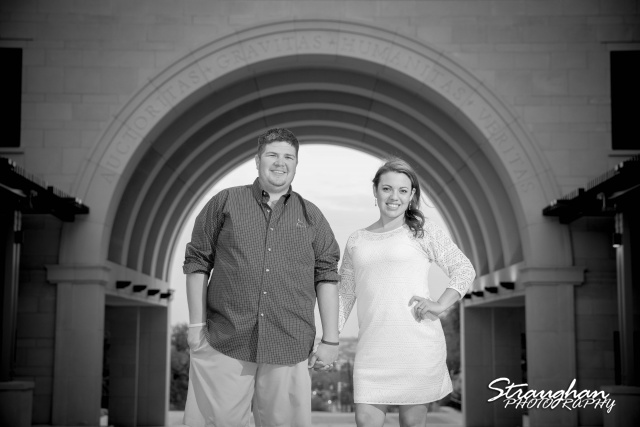 Andi's Engagement San Marcus arch
