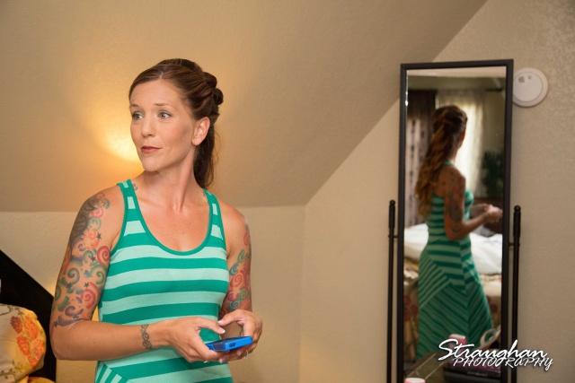 Sheehan wedding Inn on the riverwalk Amy mirror