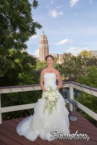 Sheehan wedding Inn on the riverwalk Amy roof