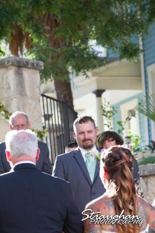 Sheehan wedding Inn on the riverwalk ralphy crying