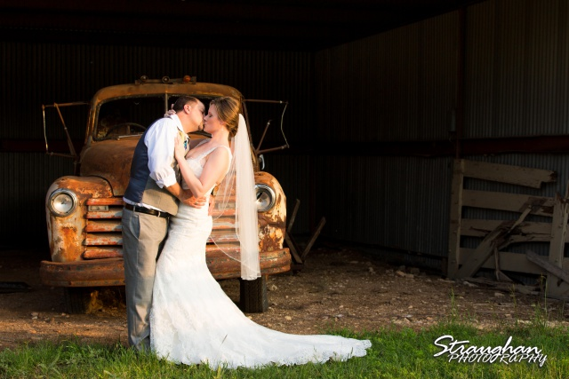 Allyson and Ryan's Wedding truck picture