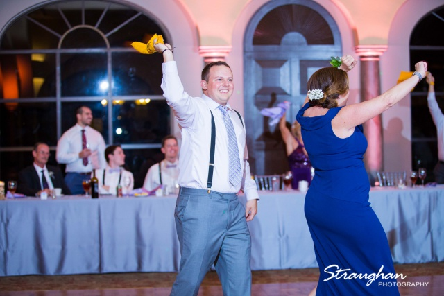 Allison + Steven wedding at the Club at Sonterra game towles