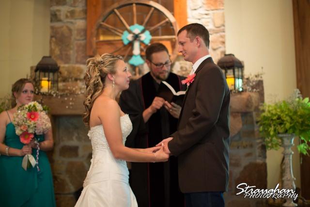 Amanda Red Coral Ranch wedding vows
