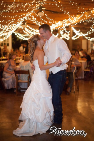 Amanda Red Coral Ranch first dance laughinh