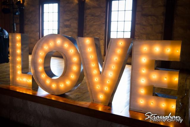 Brittney wedding Stonehaven Boulder SpringsLOVE letters