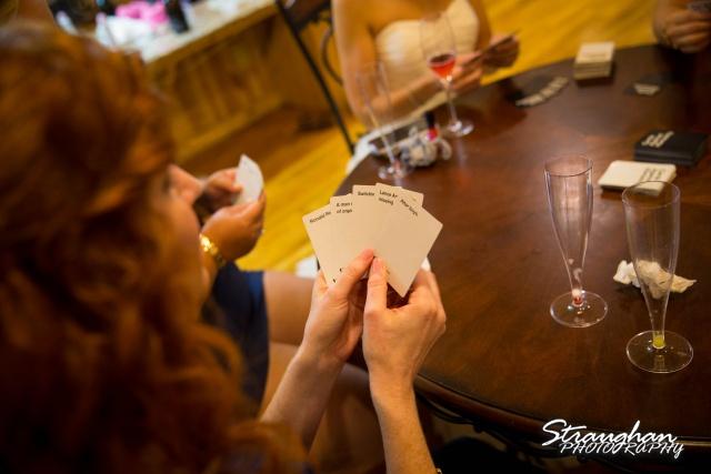 Brittney wedding Stonehaven Boulder Springs cards