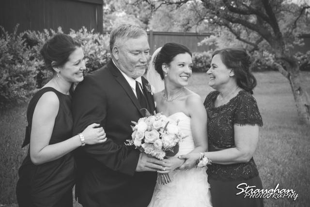 Brittney wedding Stonehaven Boulder Springs brides family