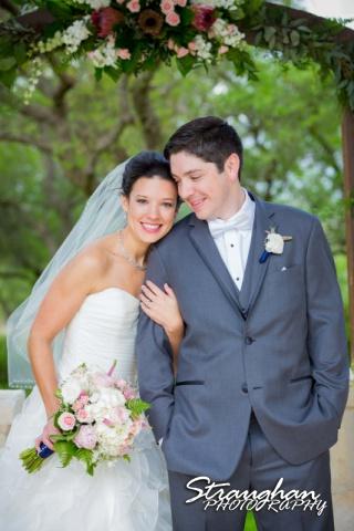 Brittney wedding Stonehaven Boulder Springs Bride n Groom arch