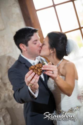 Brittney wedding Stonehaven Boulder Springs brownie