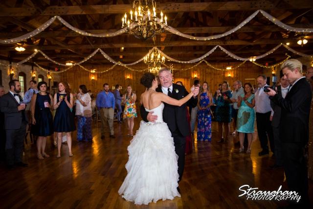 Brittney wedding Stonehaven Boulder Springs fathers dance