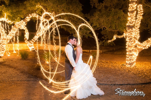 Ashton wedding Kendall Plantation sparklers