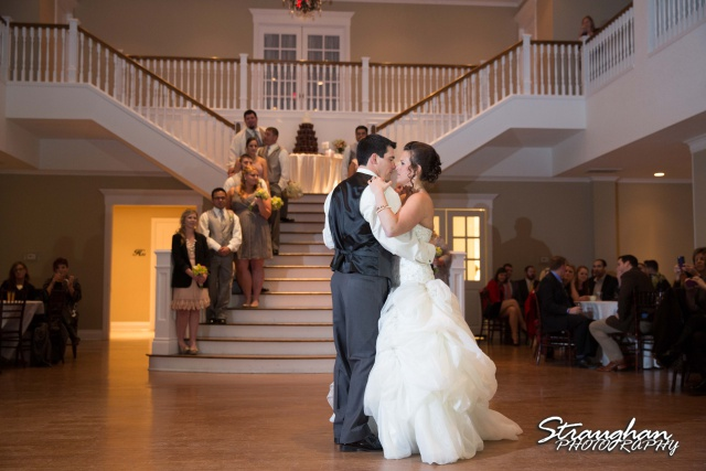 Ashton wedding Kendall Plantation first dance