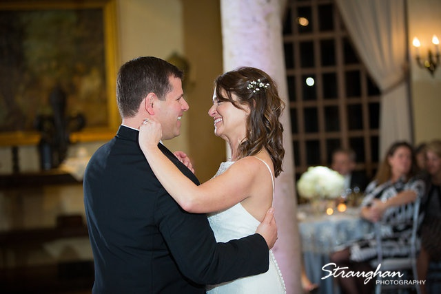 Brian and Regina at the Dominion first dance