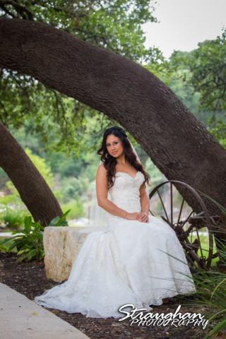 Britny's Bridal the lodge at bridal veil falls sleeping beauty