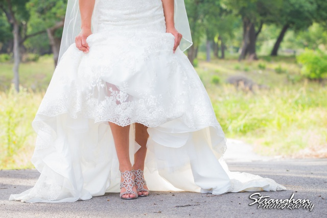Britny's Bridal the lodge at bridal veil falls feet