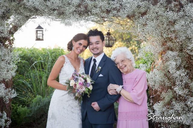 Clarissa wedding Vista West Ranch bride's grandma