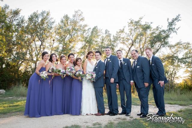 Clarissa wedding Vista West Ranch bridal party