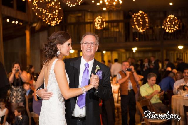 Clarissa wedding Vista West Ranch dads dance