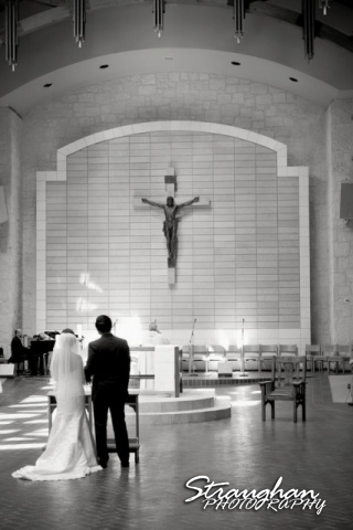 Cristina wedding St. Peters the Apostle Catholic Church Boerne church