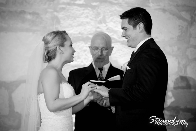 Carly's wedding Southwest School of Art rigs him