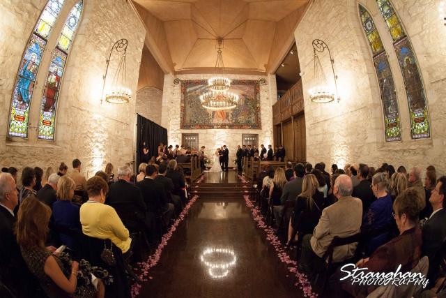 Carly's wedding Southwest School of Art prayer
