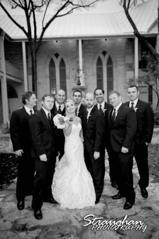 Carly's wedding Southwest School of Art the men