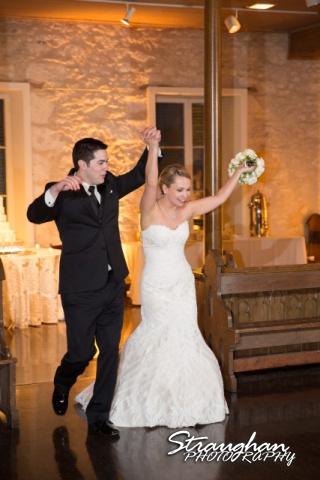 Carly's wedding Southwest School of Art entrance