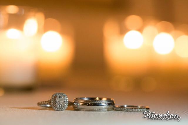 Carly's wedding Southwest School of Art rings